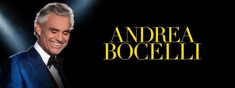Aranžma Andrea Bocelli (prevoz in vstopnica)