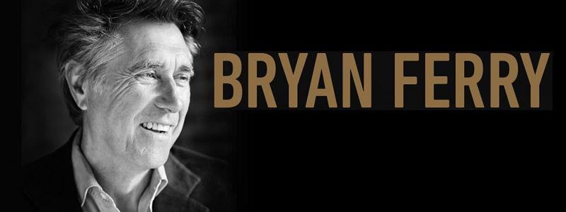 Aranžma Bryan Ferry (prevoz in vstopnica)