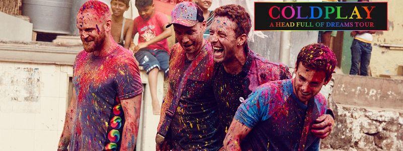 Aranžma Coldplay (prevoz in vstopnica)