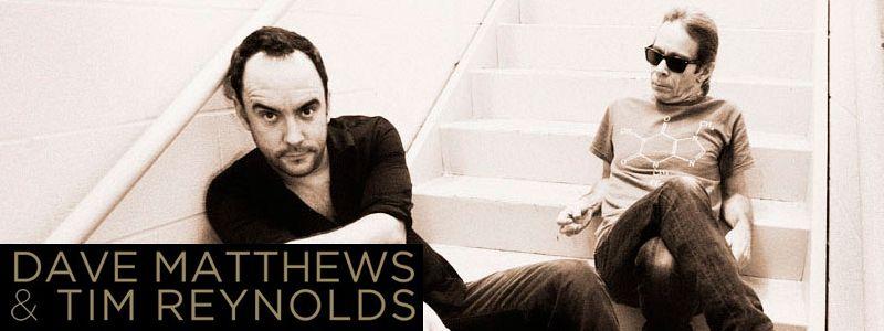 Aranžma Dave Matthews & Tim Reynolds (prevoz in vstopnica)