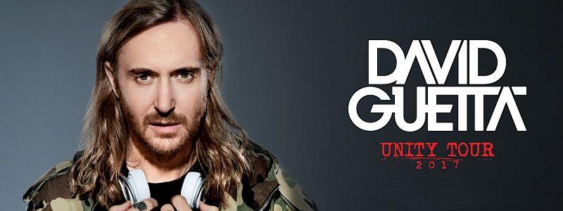 Aranžma David Guetta (prevoz in vstopnica)