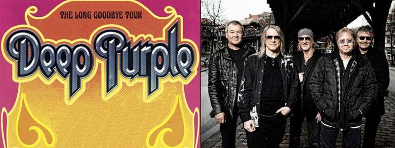 Aranžma Deep Purple (prevoz in vstopnica)