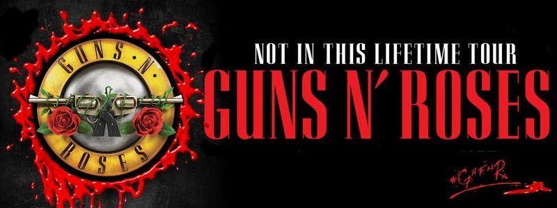 Aranžma Guns N' Roses (prevoz in vstopnica)