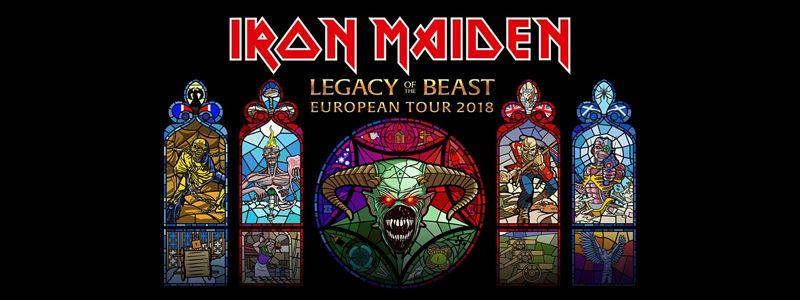Aranžma Iron Maiden (prevoz in vstopnica)
