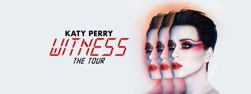 Aranžma Katy Perry (prevoz in vstopnica)
