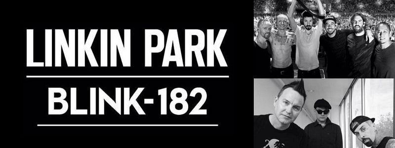 Aranžma Linkin Park + Blink 182 (prevoz in vstopnica)