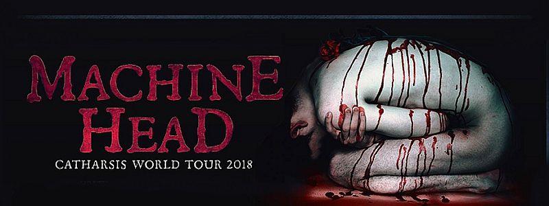 Aranžma Machine Head (prevoz in vstopnica)