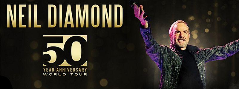 Aranžma Neil Diamond (prevoz in vstopnica)
