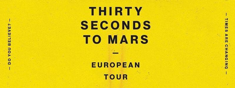 Aranžma Thirty Seconds To Mars (prevoz in vstopnica)