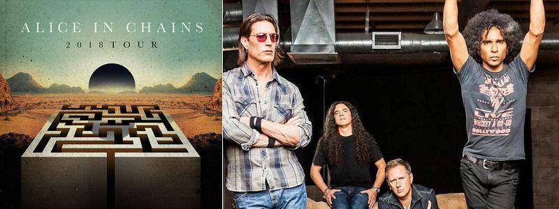 Aranžma Alice In Chains (prevoz in vstopnica)