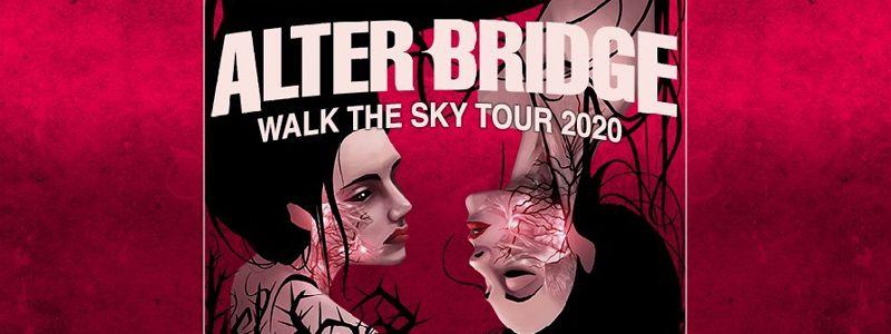 Aranžma Alter Bridge (prevoz in vstopnica)