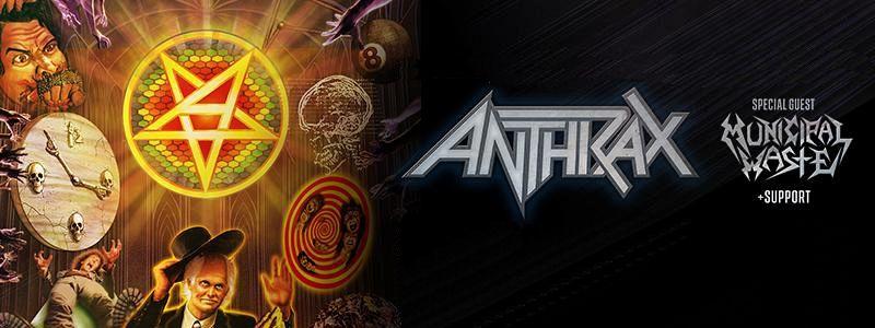 Aranžma Anthrax (prevoz in vstopnica)