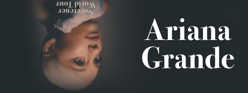 Aranžma Ariana Grande (prevoz in vstopnica)