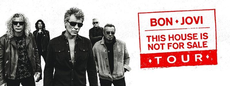 Aranžma Bon Jovi (prevoz in vstopnica)