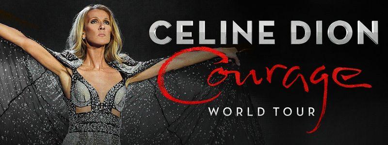 Aranžma Celine Dion (prevoz in vstopnica)