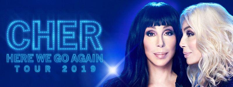 Aranžma Cher (prevoz in vstopnica)