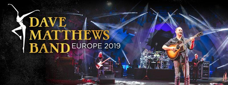 Aranžma Dave Matthews Band (prevoz in vstopnica)