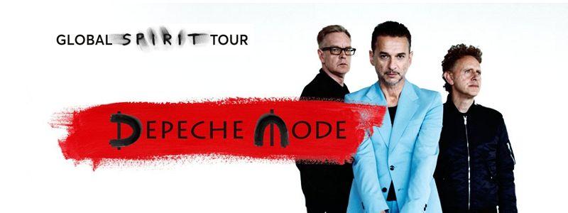Aranžma Depeche Mode (prevoz in vstopnica)