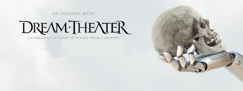 Aranžma Dream Theater (prevoz in vstopnica)