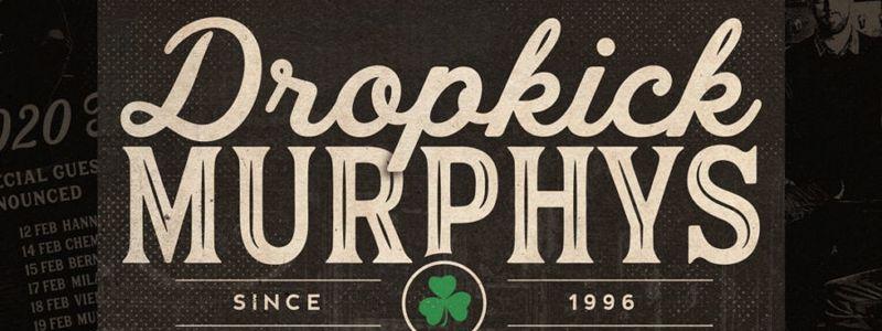 Aranžma Dropkick Murphys (prevoz in vstopnica)