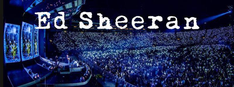 Aranžma Ed Sheeran (prevoz in vstopnica)