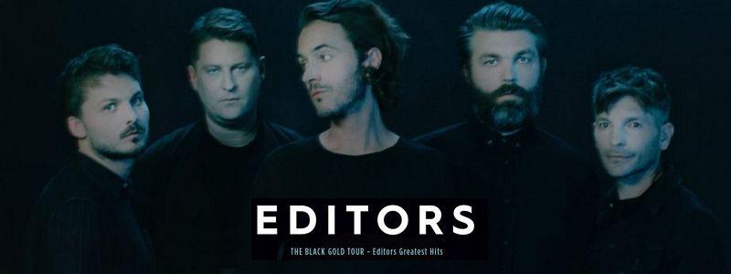 Aranžma Editors (prevoz in vstopnica)
