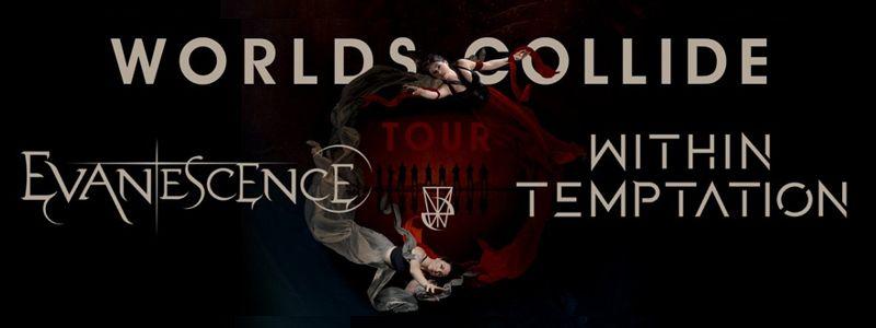 Aranžma Evanescence, Within Temptation (prevoz in vstopnica)