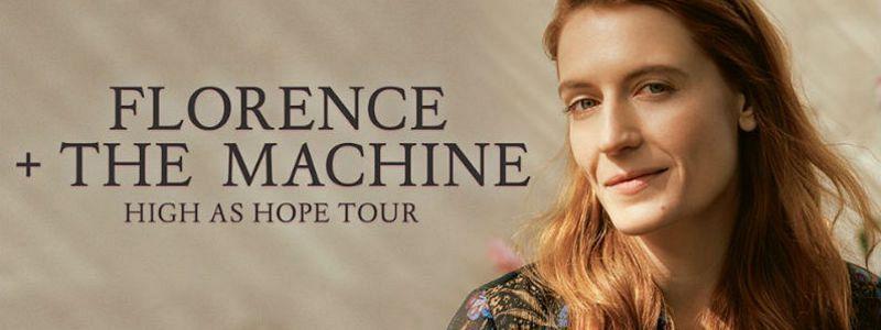 Aranžma Florence + The Machine (prevoz in vstopnica)