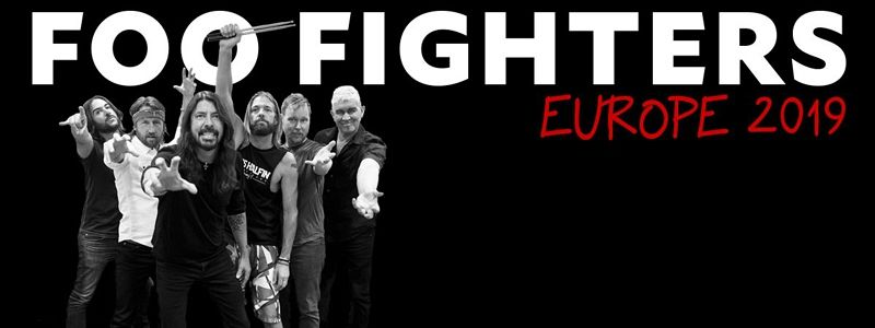 Aranžma Foo Fighters (prevoz in vstopnica)