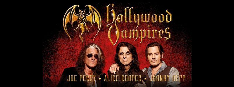 Aranžma Hollywood Vampires (prevoz in vstopnica)