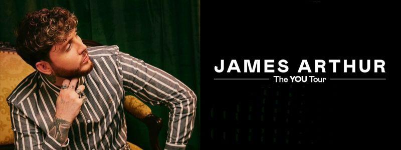 Aranžma James Arthur (prevoz in vstopnica)