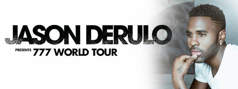 Aranžma Jason Derulo (prevoz in vstopnica)