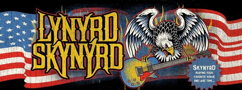 Aranžma Lynyrd Skynyrd (prevoz in vstopnica)