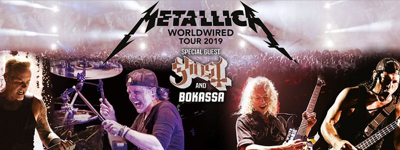 Image result for metallica milano 2019