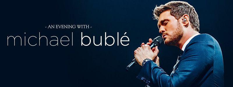 Aranžma Michael Buble (prevoz in vstopnica)