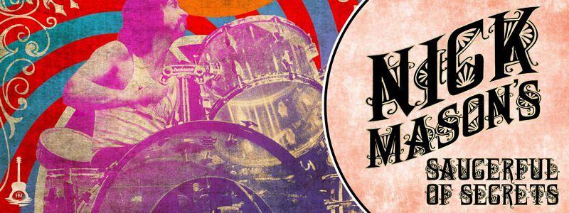 Aranžma Nick Mason (prevoz in vstopnica)