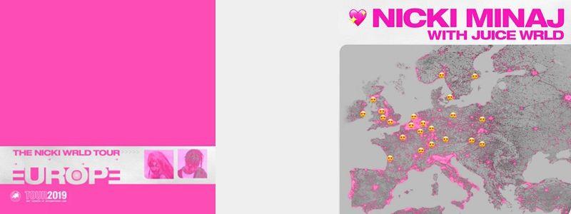 Aranžma Nicki Minaj (prevoz in vstopnica)