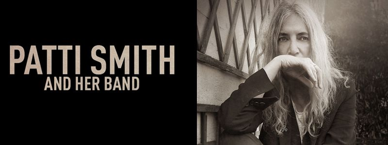 Aranžma Patti Smith (prevoz in vstopnica)