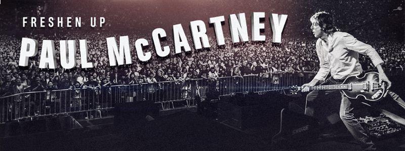 Aranžma Paul McCartney (prevoz in vstopnica)