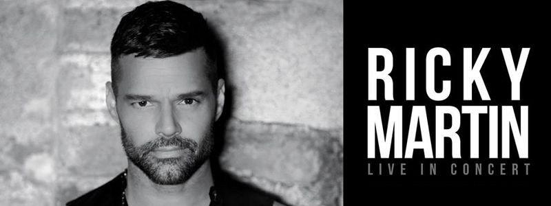Aranžma Ricky Martin (prevoz in vstopnica)