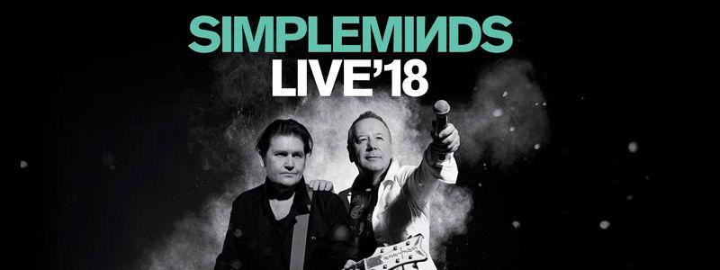 Aranžma Simple Minds (prevoz in vstopnica)