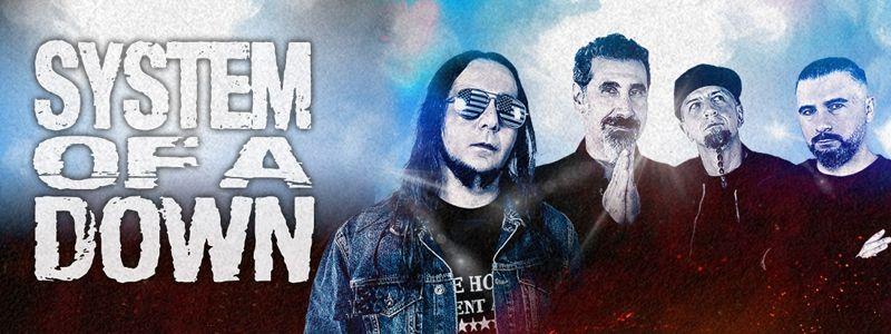 Aranžma System Of A Down, Korn (prevoz in vstopnica)