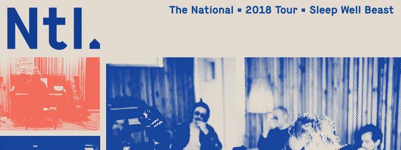 Aranžma The National (prevoz in vstopnica)