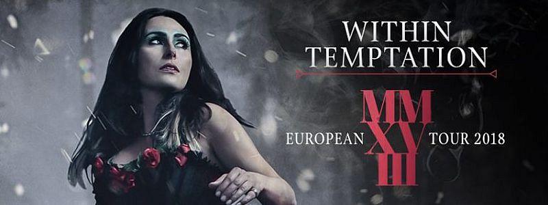 Aranžma Within Temptation (prevoz in vstopnica)